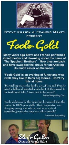 Fools Gold leaflet